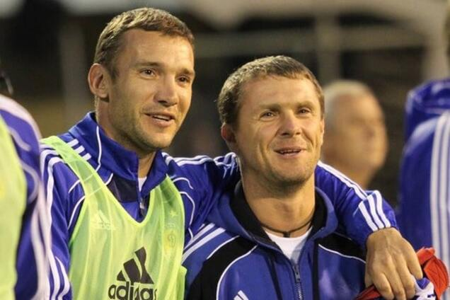 Шевченко и Ребров - один из лучших атакующих дуэтов мира