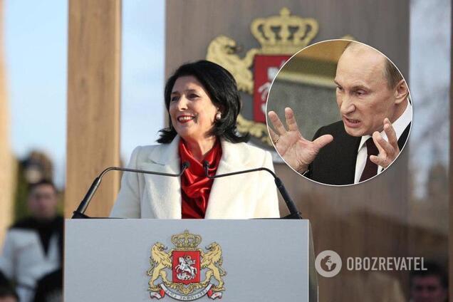 Президент Грузии выступила за прямой диалог с Россией