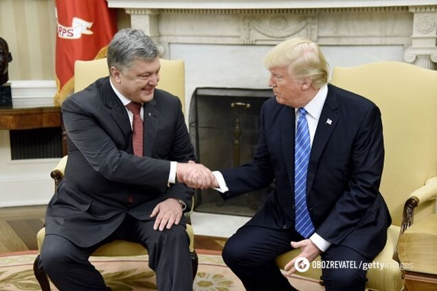 Порошенко і Трамп