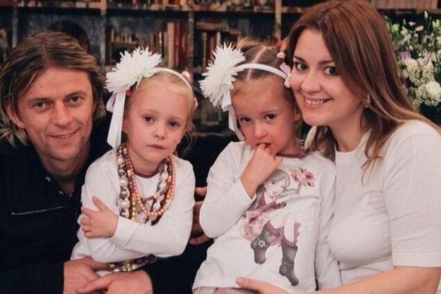 Анатолий Тимощук и Надежда Навроцкая с дочерьми