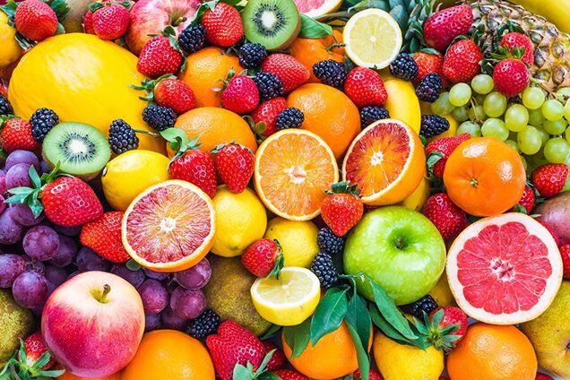 Від фрукт і ягід доведеться на якийсь час відмовитися