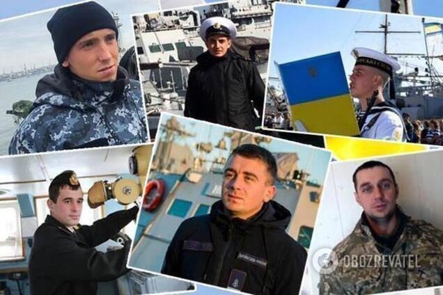 Украинские моряки, захваченные РФ в плен, получили статус УБД