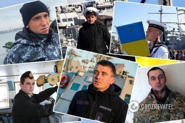 Украинские моряки, которые вернулись из плена РФ