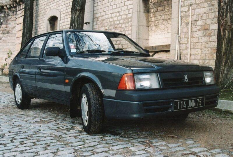 Москвич-2141 для Франции