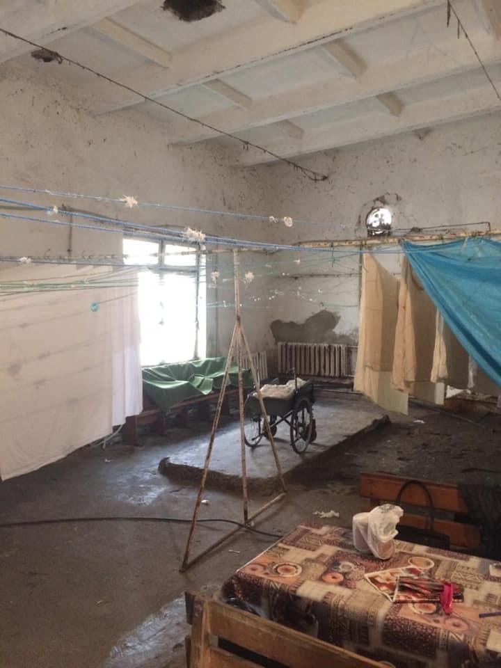 Инфекционная больница в Хусте