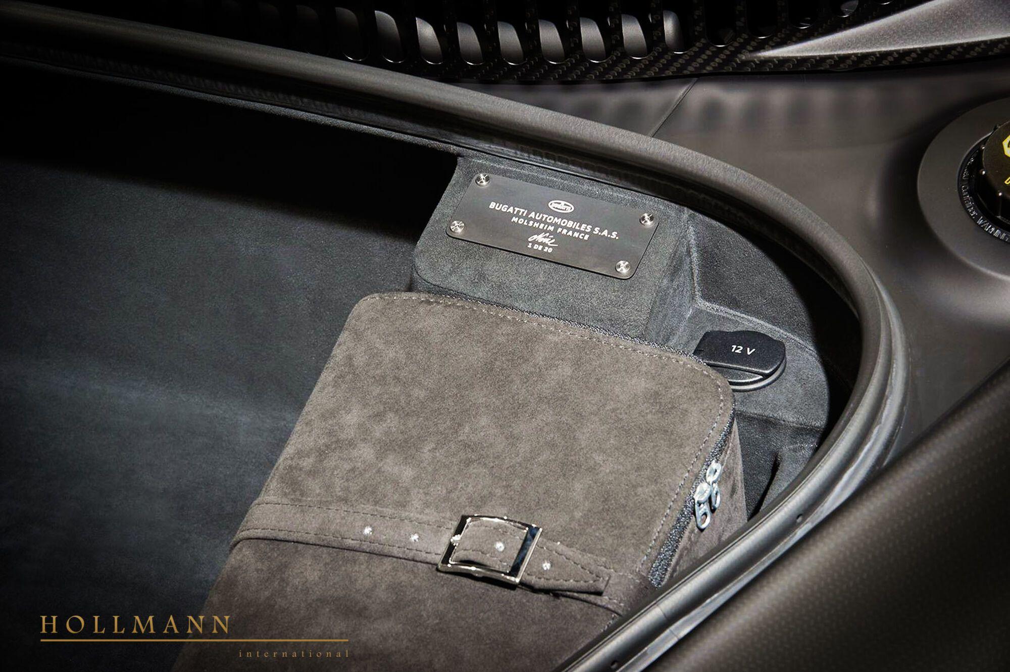 Chiron Edition Noire Sportive будет изготовлен в количестве 20 экземпляров