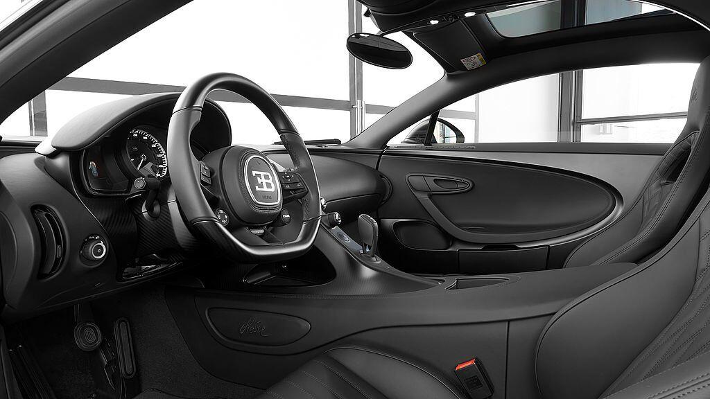 Bugatti Chiron Edition Noire Sportive