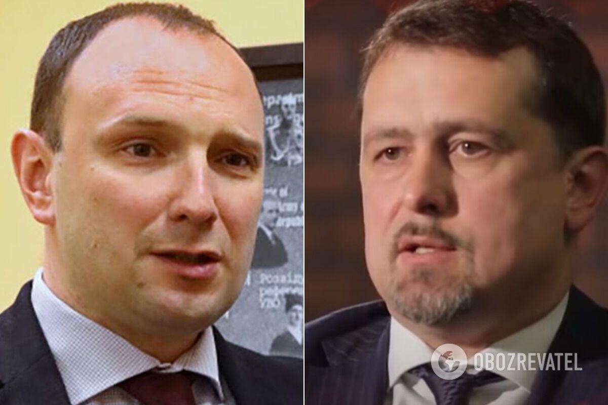 Егор Божок и Сергей Семочко