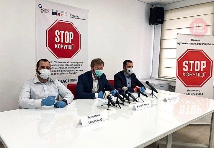 """Активісти ГО """"Стоп корупції"""" на пресконференції на тему """"Робота будівельних гіпермаркетів по всій Україні в умовах епідемії COVID-19"""""""
