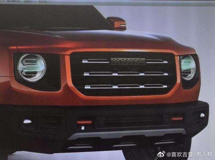 Новый китайский внедорожник получит брутальный дизайн