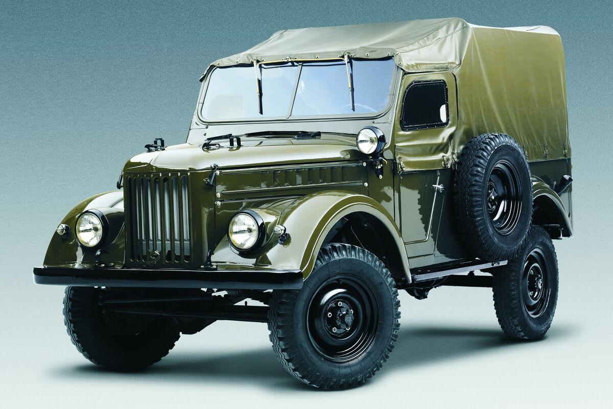 Первым автомобилем Гагарина после приземления стал обычный армейский ГАЗ-69
