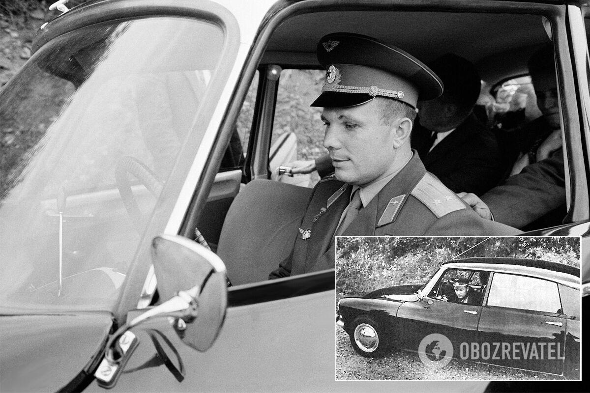 Во время визита во Францию Гагарин оценил достоинства не только Matra, но и Citroen DS