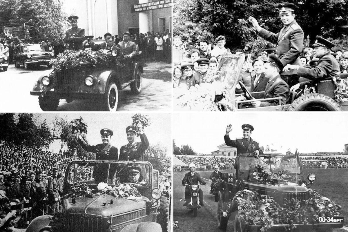 Первым служебным автомобилем Гагарина стал обычный армейский ГАЗ-69