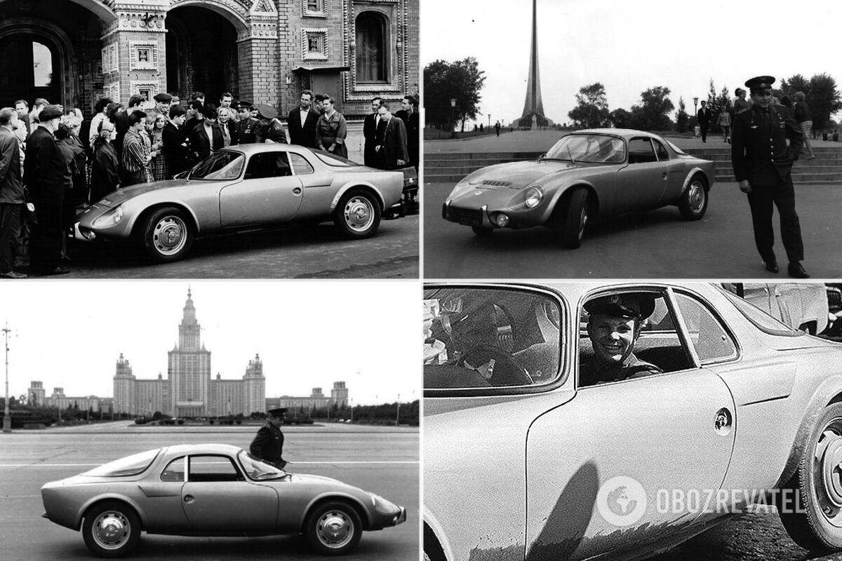 Купе Matra-Bonnet Djet V вручили Гагарину летом 1965 года в Посольстве Франции в Москве
