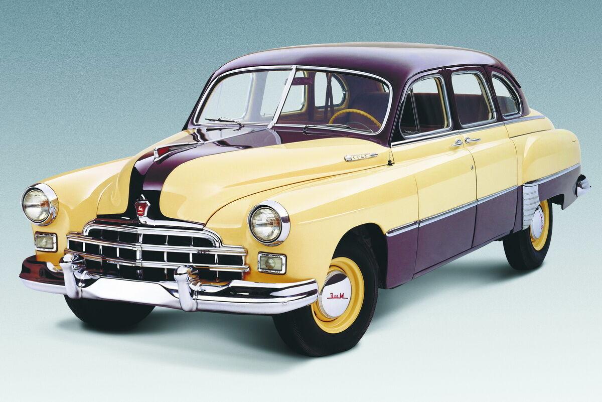 """ГАЗ-12 ЗИМ выпускался с 1950 по 1959 год, когда его сменила """"Чайка"""""""