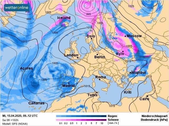 Синоптик рассказала о погоде в Украине в Вербное воскресенье