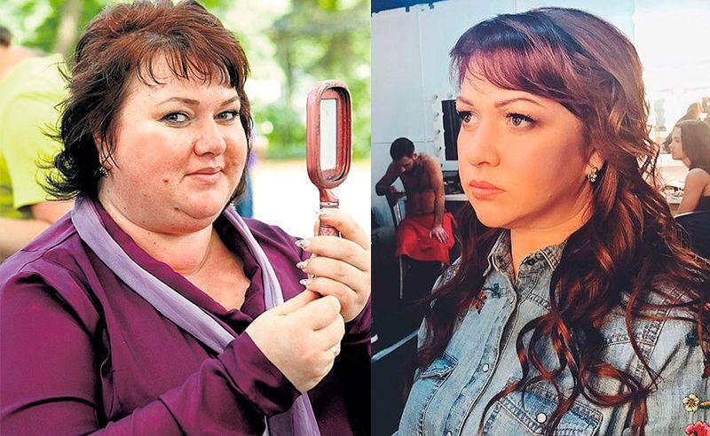 Ольга Картункова до і після схуднення