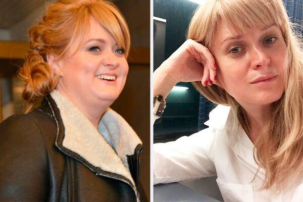 Анна Михалкова до і після схуднення