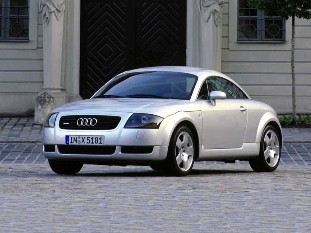 У першій генерації Audi TT була дуже симпатичним автомобілем