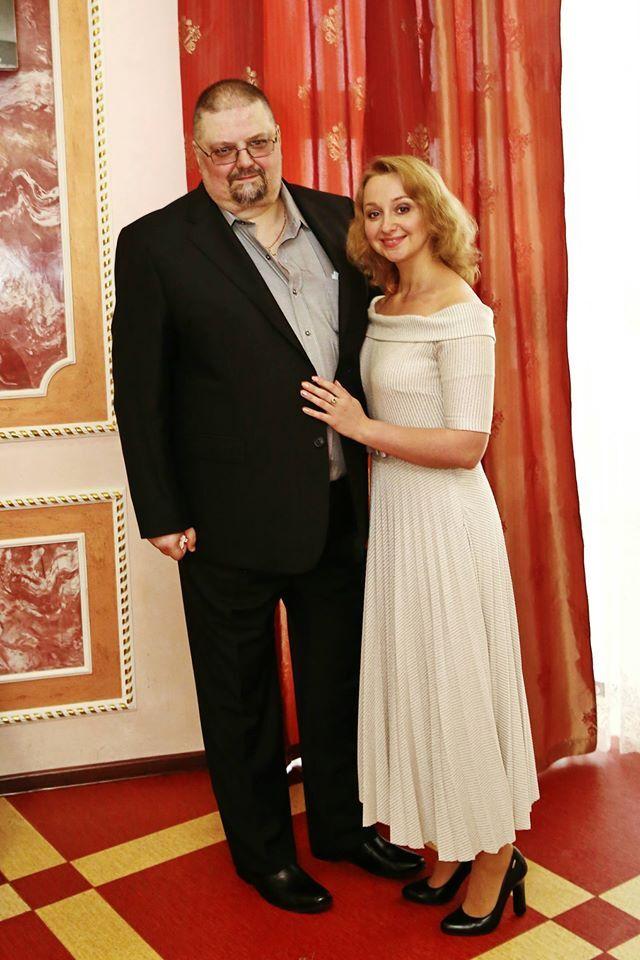 Александр Ищук с женой Ириной