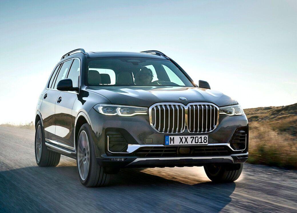 Огромный BMW Х7 станет основой для X8 2021
