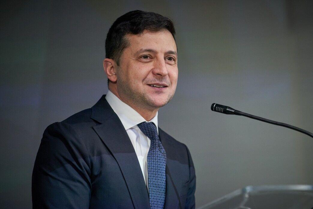 Владимир Зеленский в 2020 году