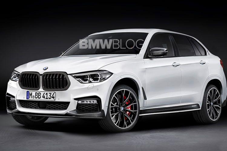 Возможный вариант дизайна BMW X8 2021