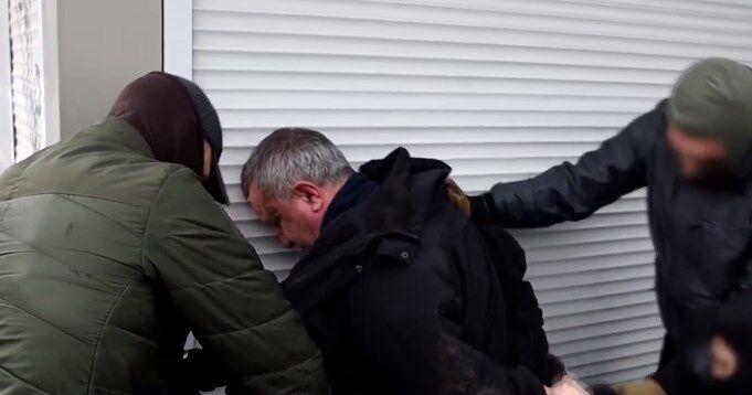 З'явилося відео затримання генерал-майора СБУ Валерія Шайтанова