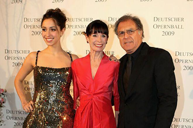 Уна Чаплін і її батьки