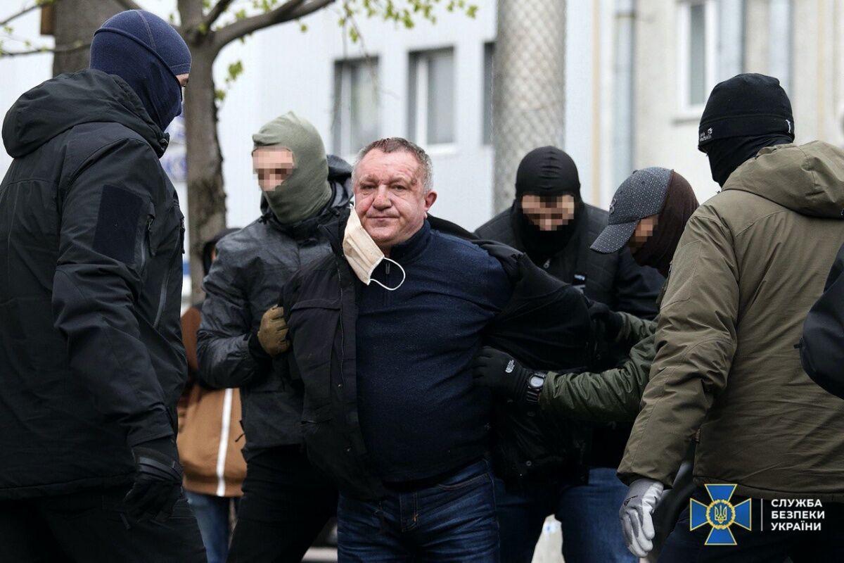 Задержание генерал-майора СБУ Валерия Шайтанова