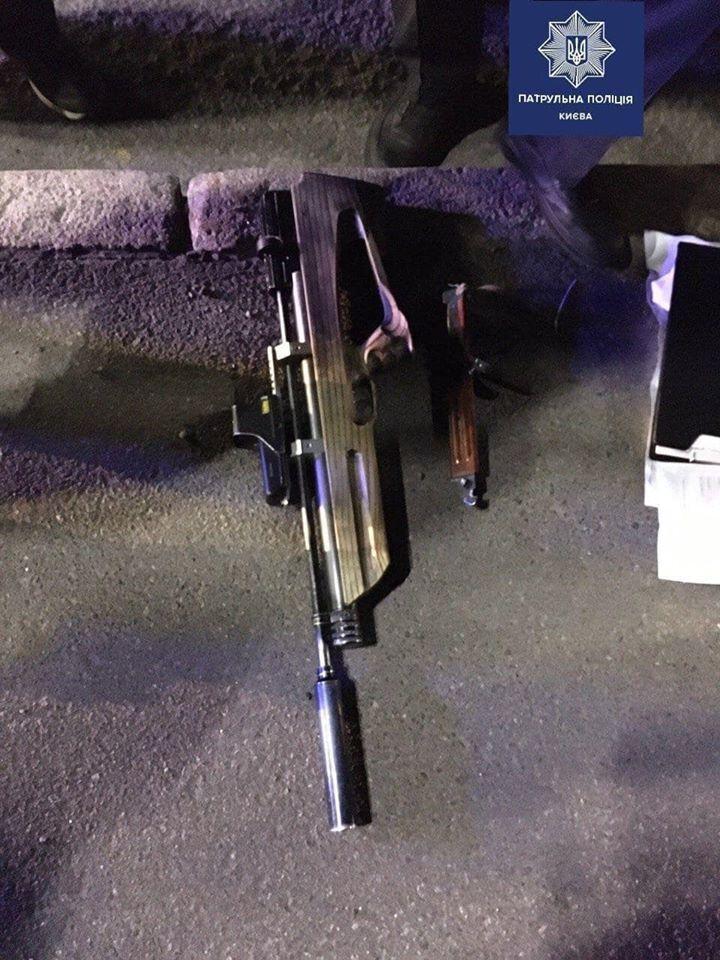 Зброя, вилучена у Бездітного при затриманні