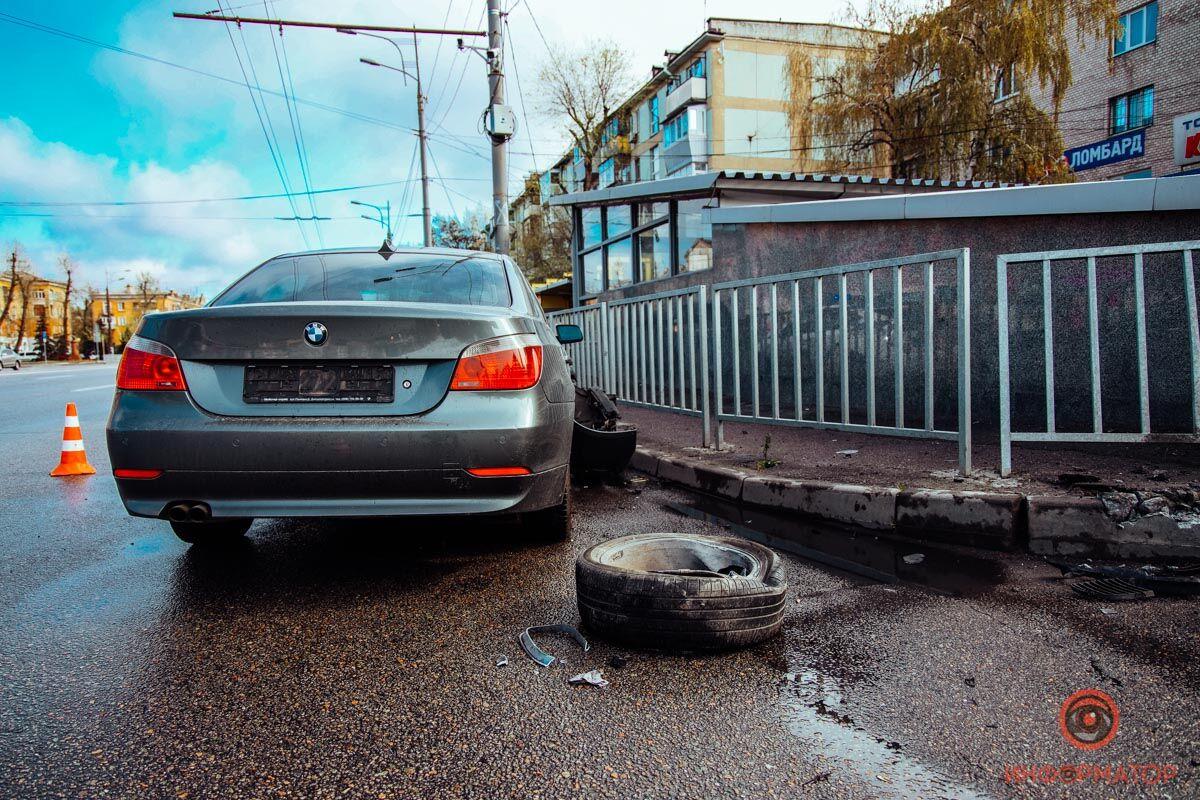 ДТП на Слобожанском проспекте в Днепре