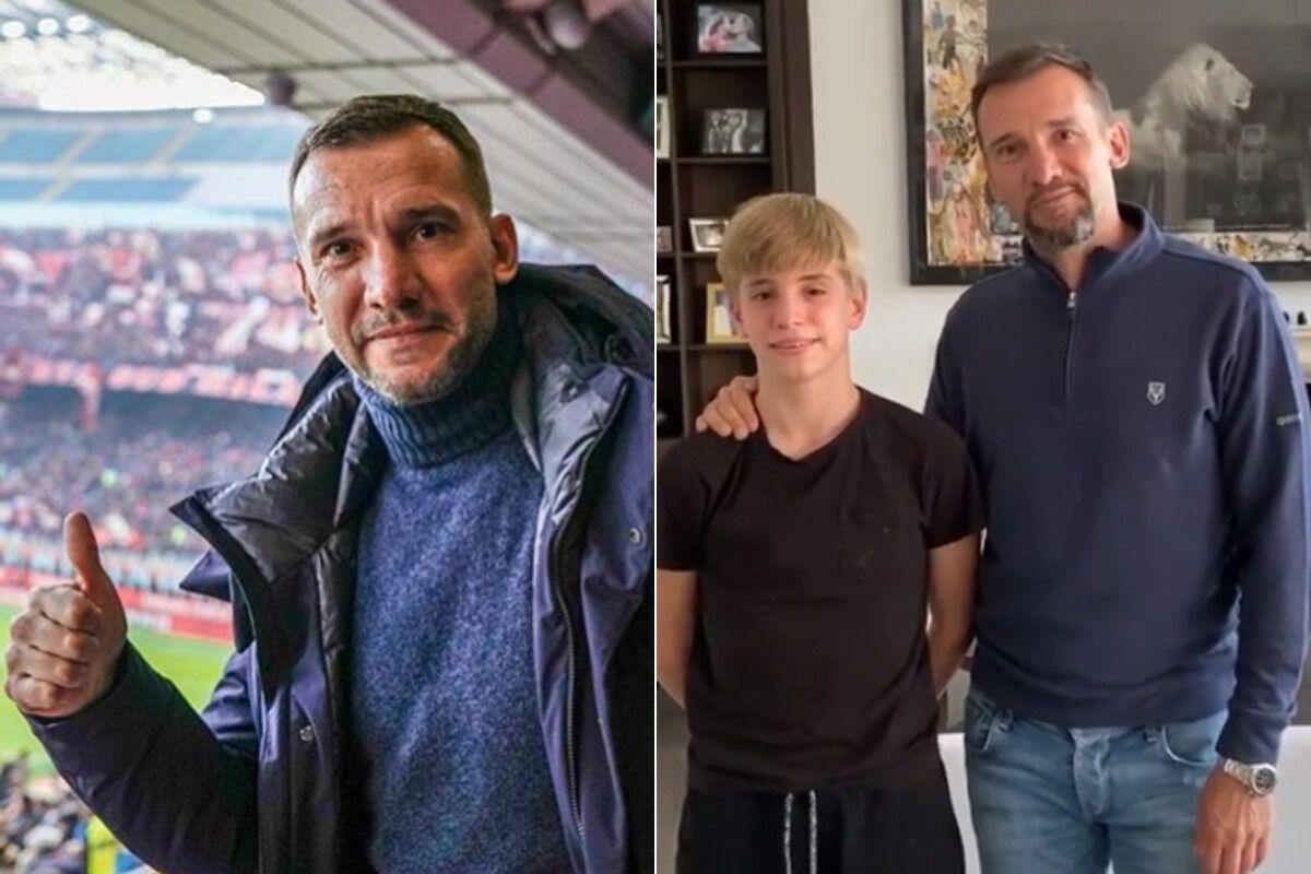 """Андрей Шевченко в январе посетил матч лондонского """"Челси"""", а теперь проводит в Лондоне карантин"""