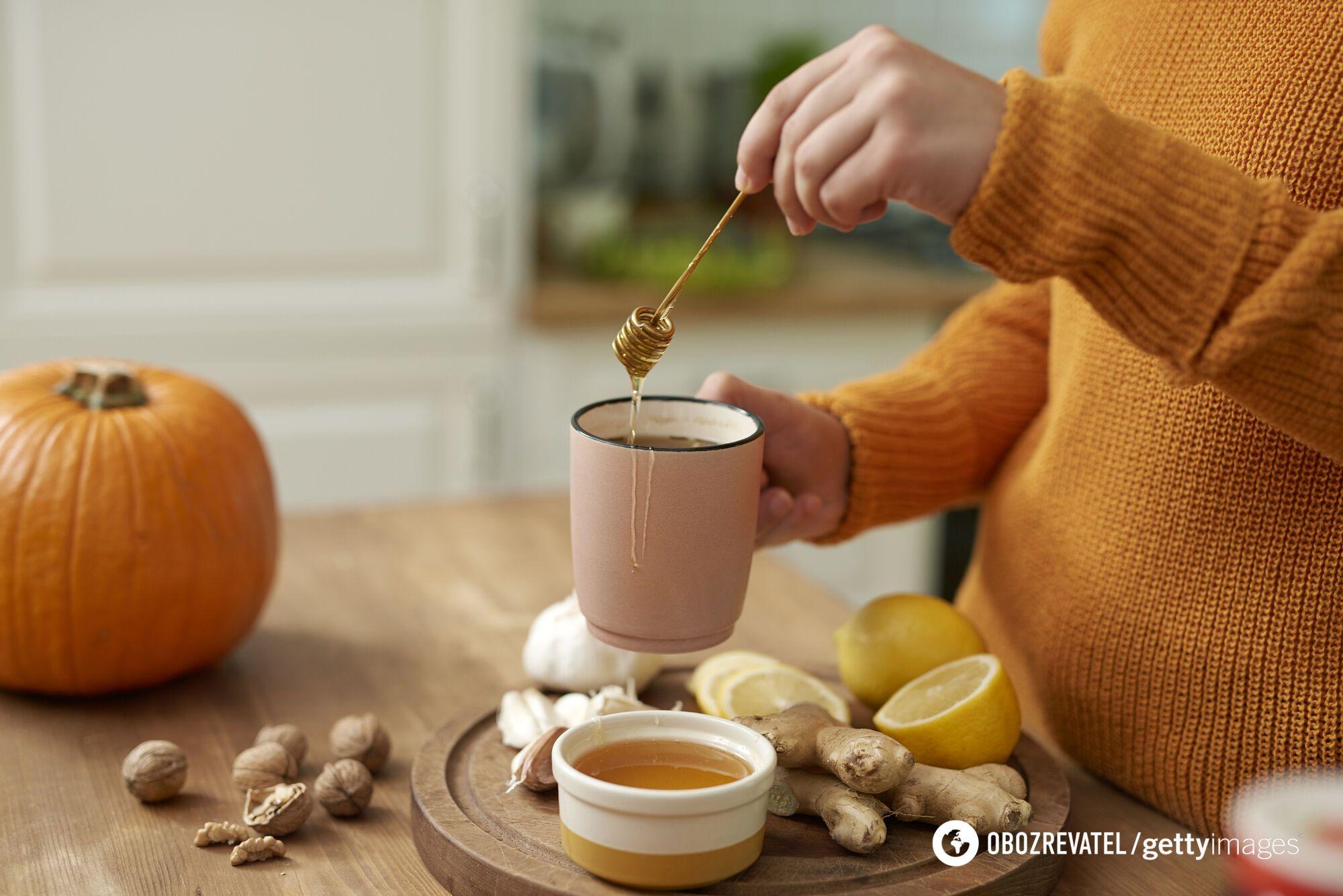 Чай, в тому числі з імбиром, не має бути занадто міцним і гарячим