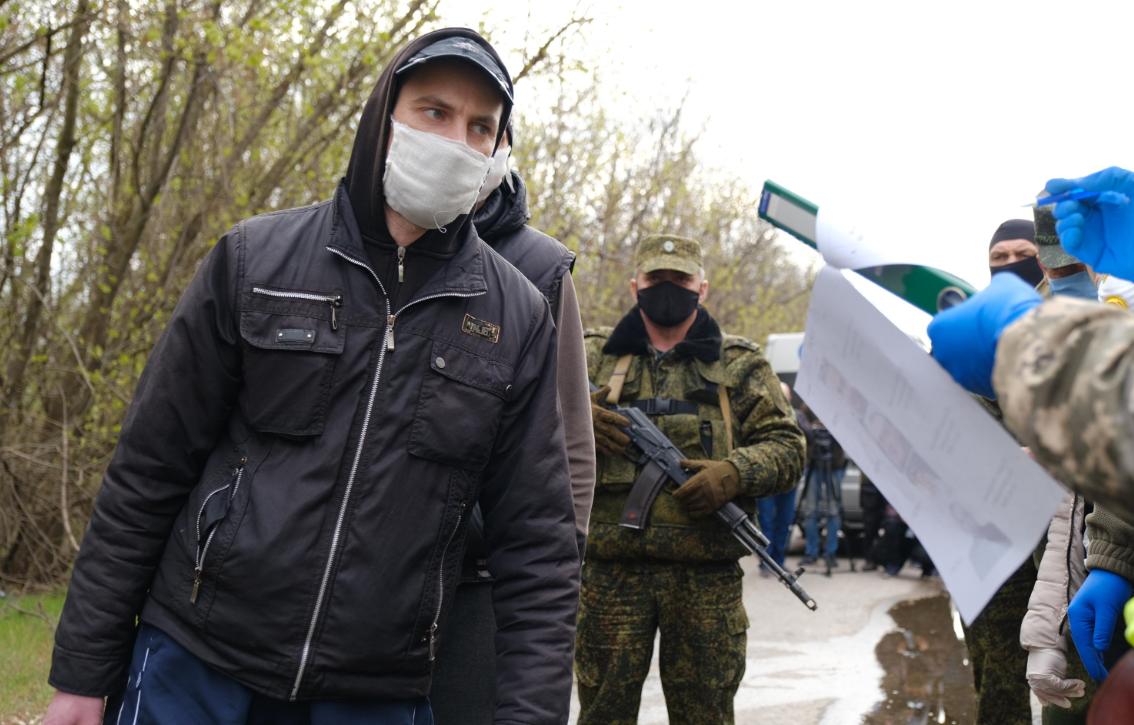 """Обмен пленными с """"ДНР"""""""