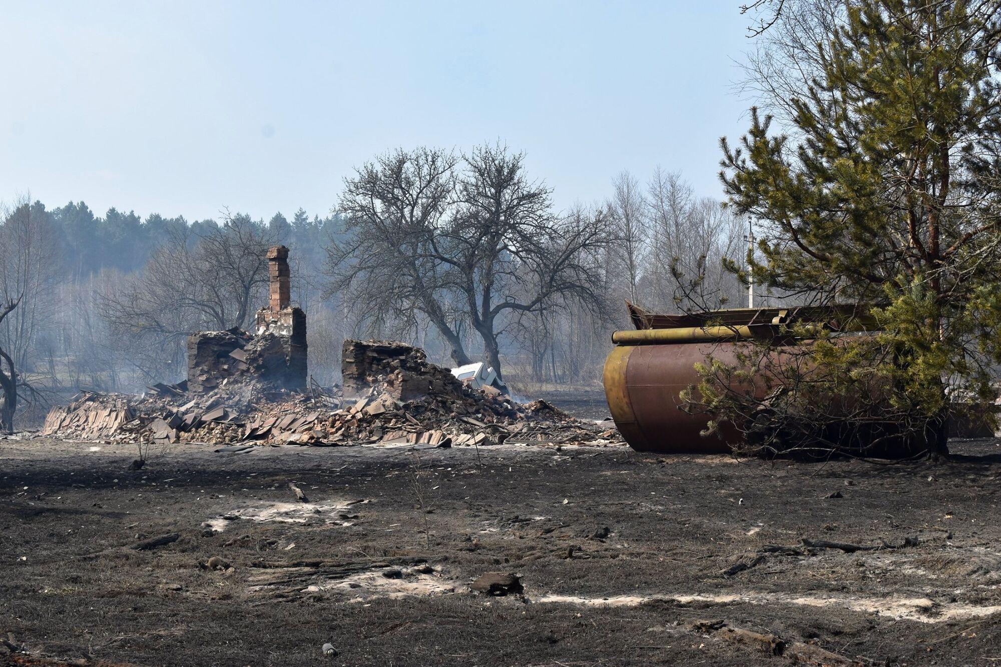 Житомирщину охватили масштабные пожары