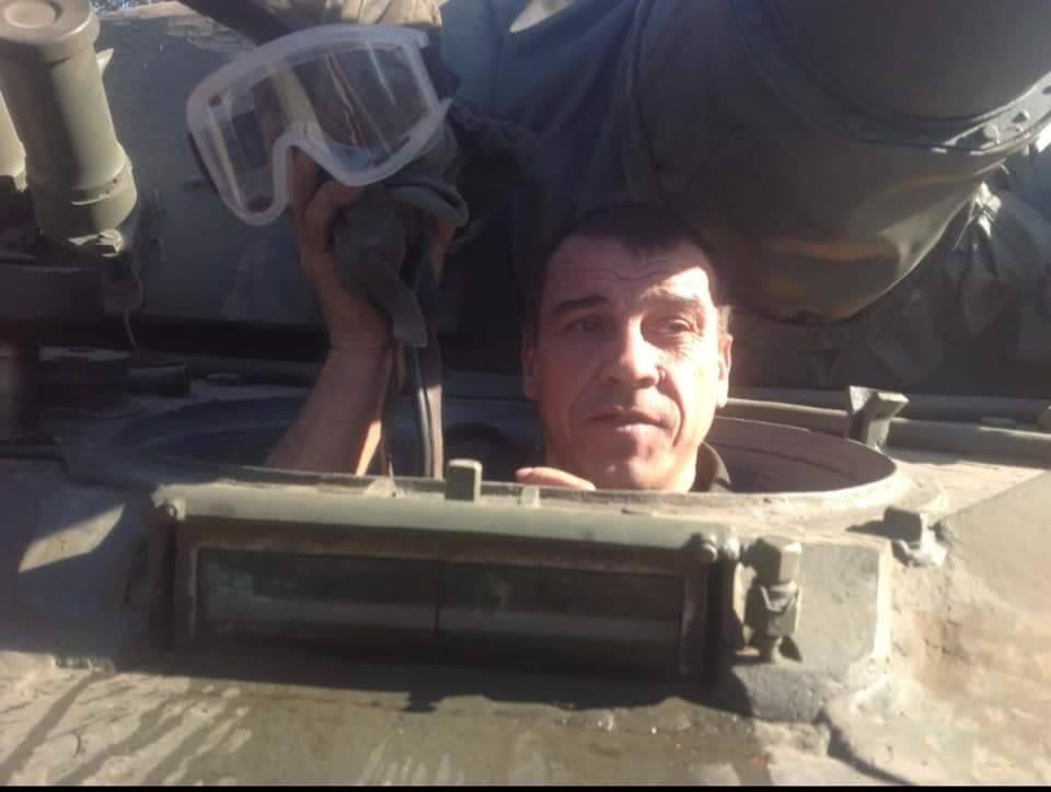 Ветеран АТО Віктор Сімончук, якого жорстоко побили в Києві