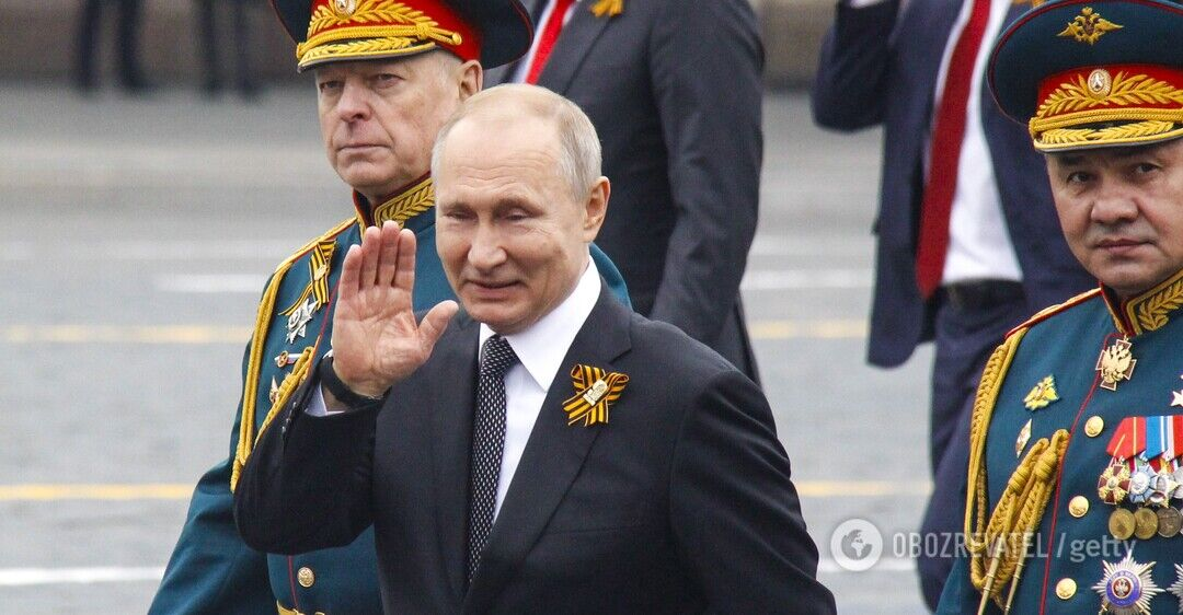 Путін скасував парад до 9 травня