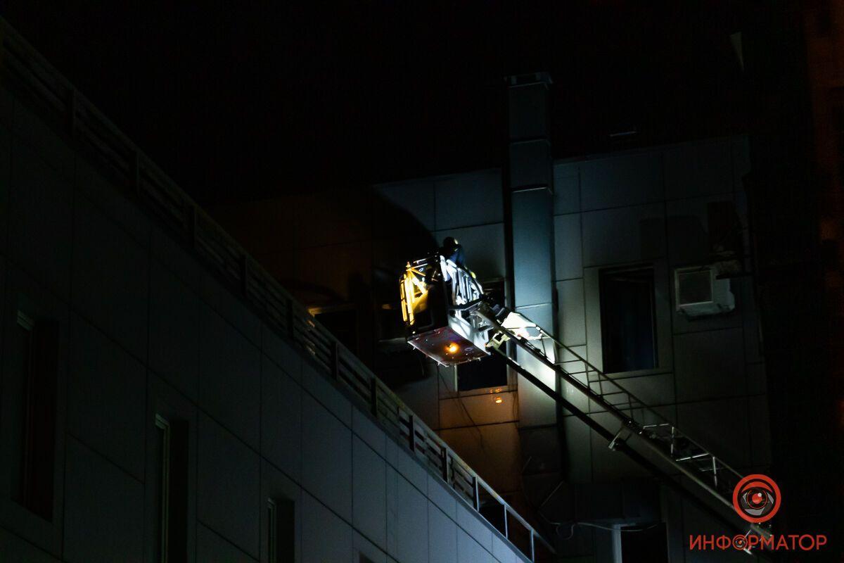 Пожежа в ТЦ Міріада