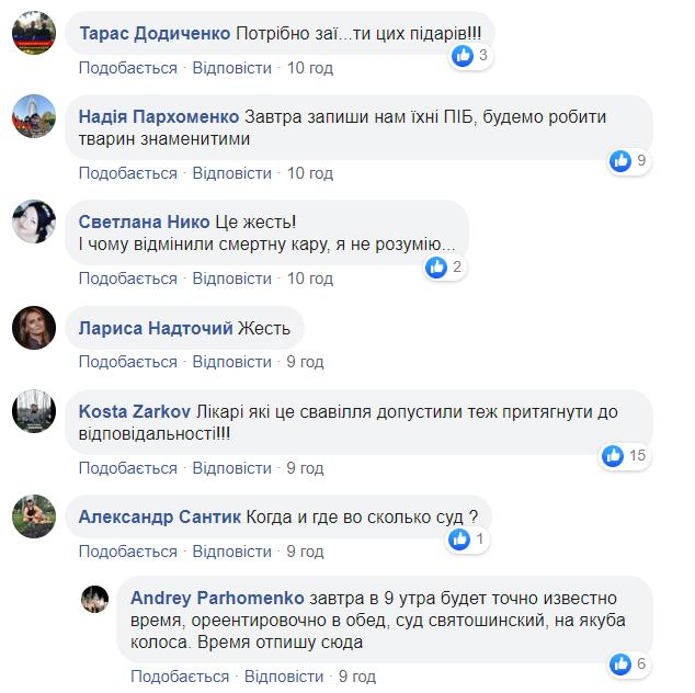 Реакція українців