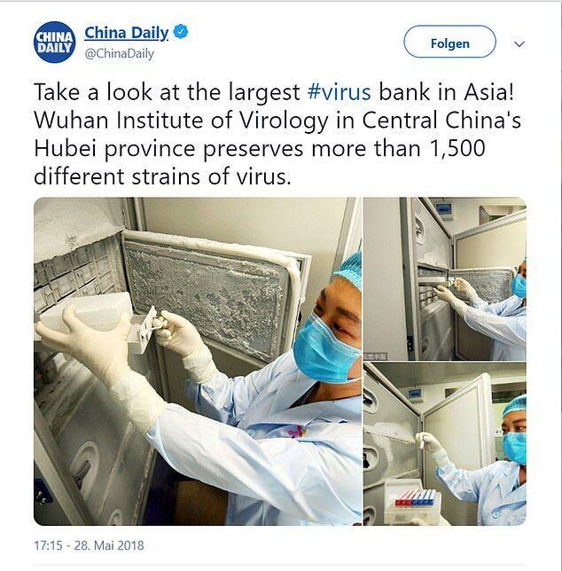 Коронавірус зберігали в зламаному холодильнику: світ шокували фото з лабораторії Уханя