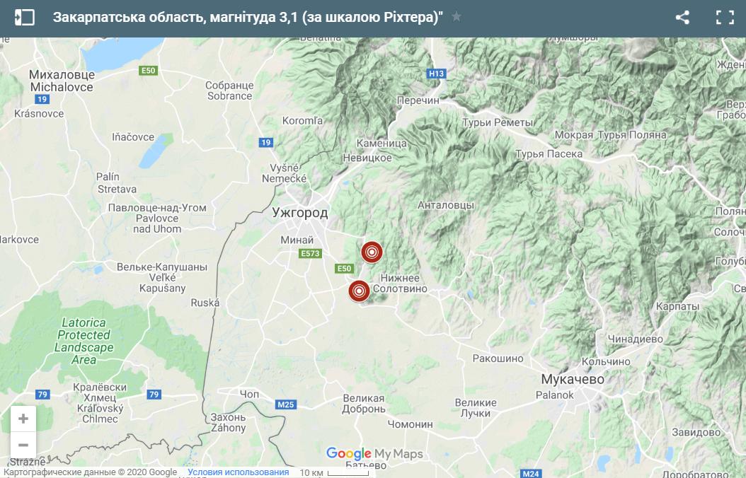 В Украине произошло два землетрясения за день: где было неспокойно