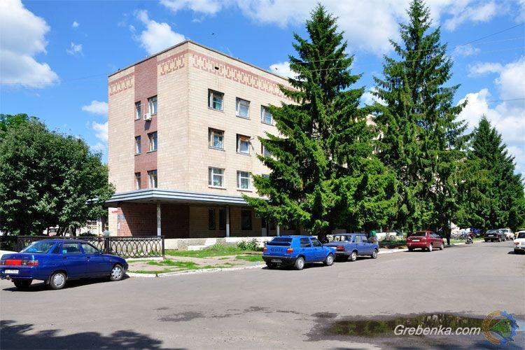 Центральная районная больница города Гребенка