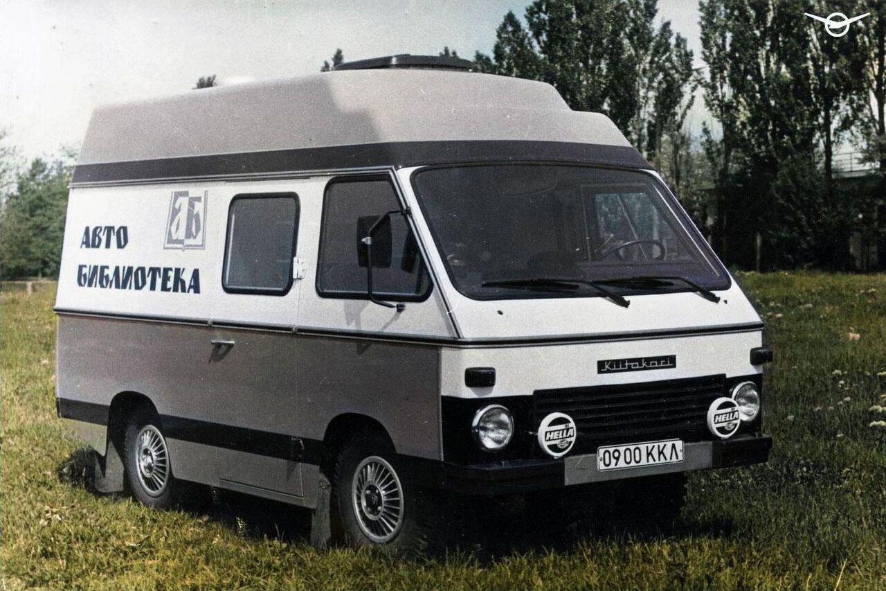 УАЗ 452 от Kiitokori Oy совсем не напоминал стандартную модель