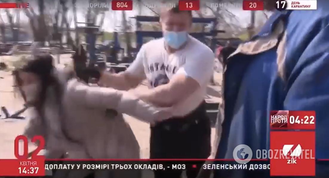 У Києві напали на журналістів ZIK