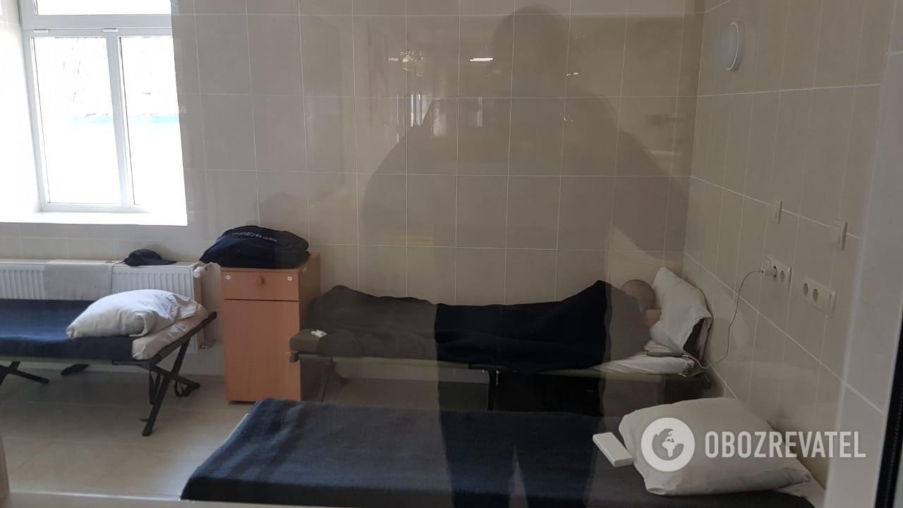 В Одессе современную инфекционку превратили в казарму для нацгвардейцев