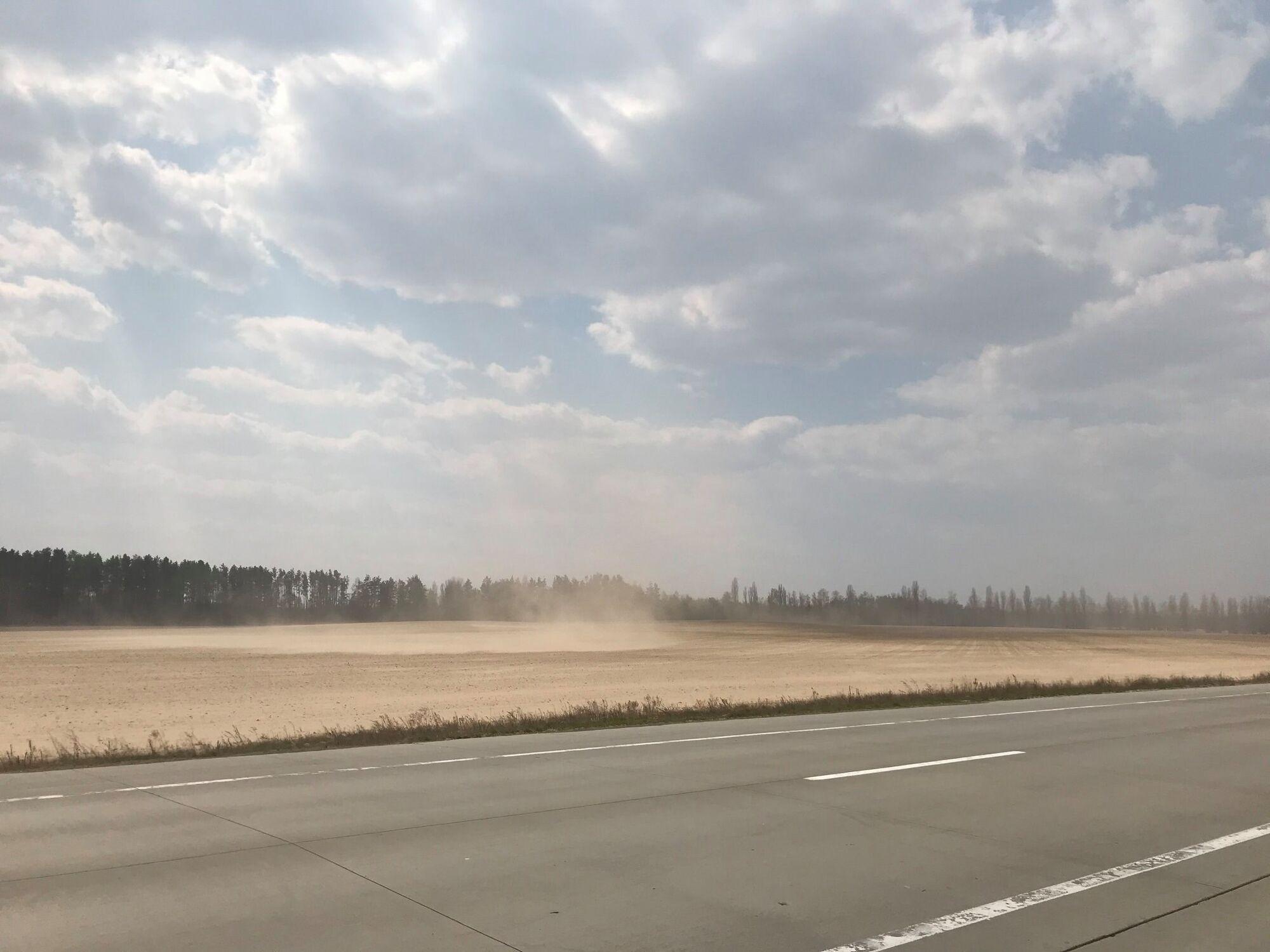 """""""Сахара"""" біля Малина на Житомирщині"""