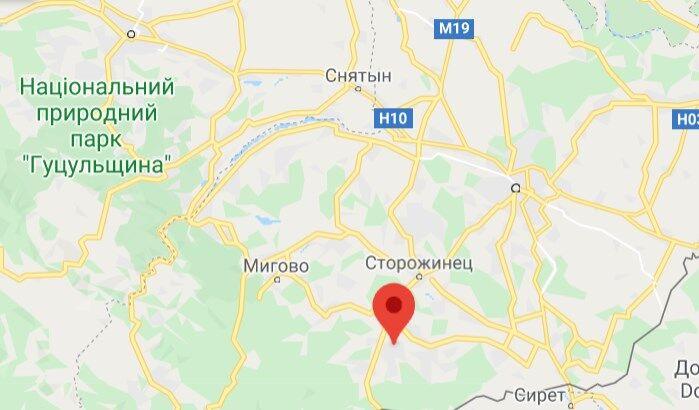 Село Їжівці в Сторожинецькому районі Чернівецької області
