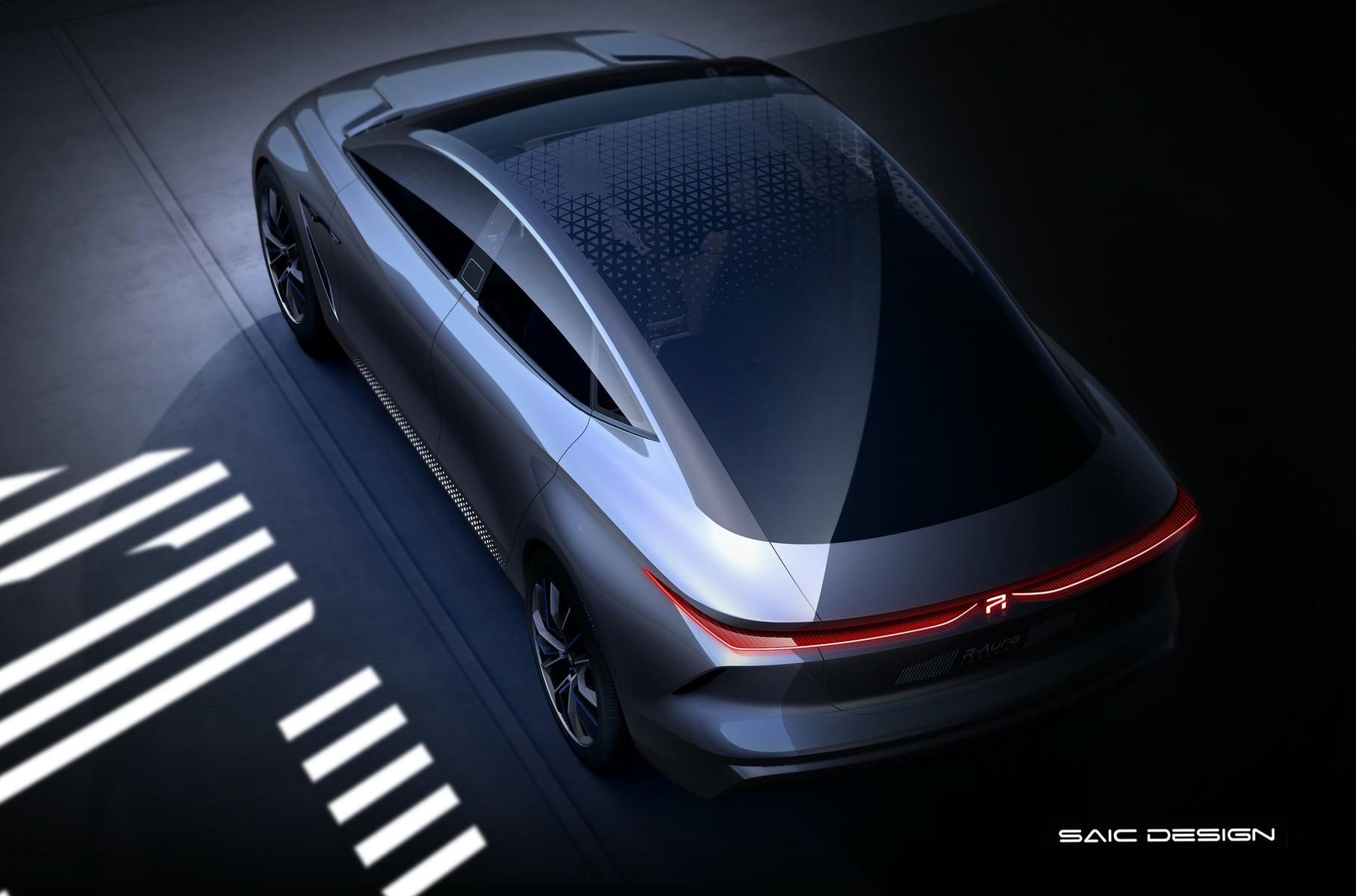 Новый электромобиль SAIC удивил технологиями