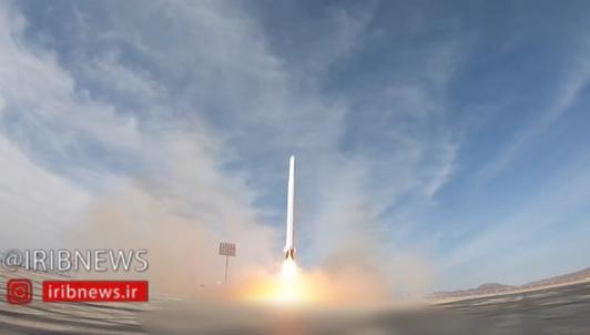 Запуск Іраном військового супутника Noor